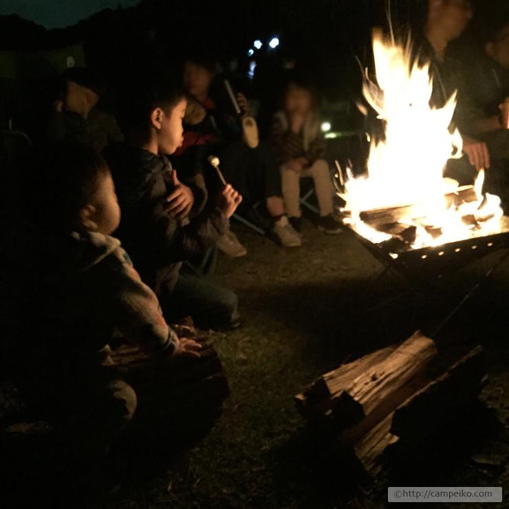 スノーピーク 焚き火トーク
