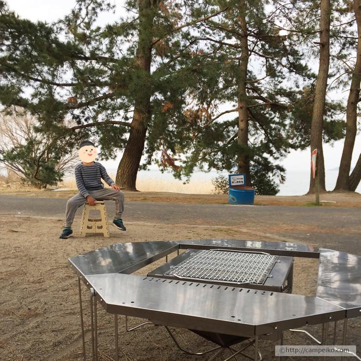 キャンプ記録-スノーピーク ジカロテーブル