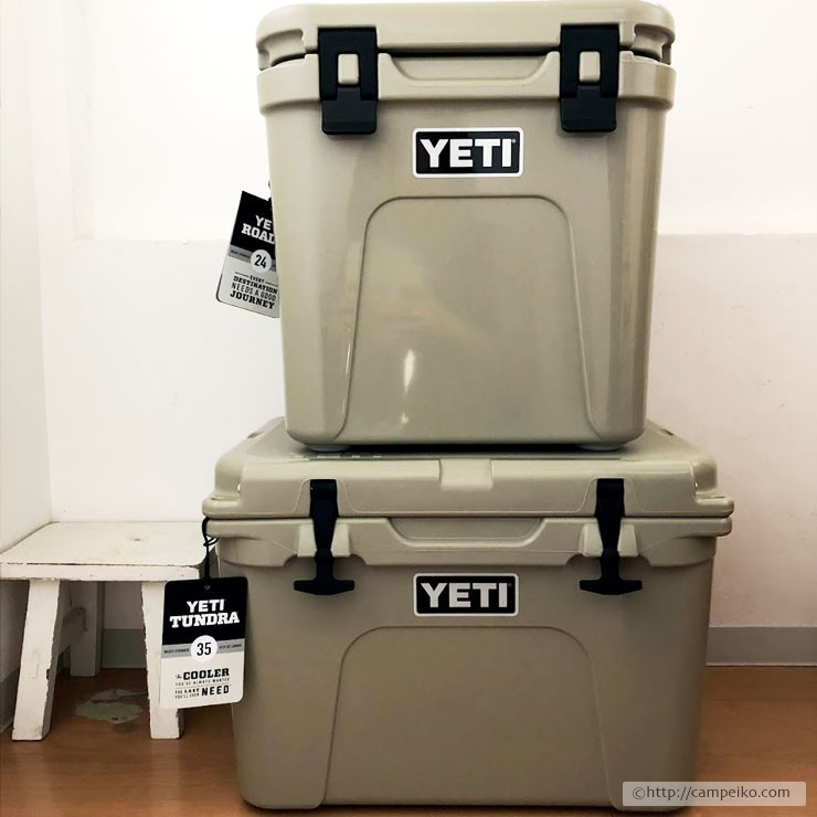 YETIクーラーボックス(タンドラ35・ローディ24)
